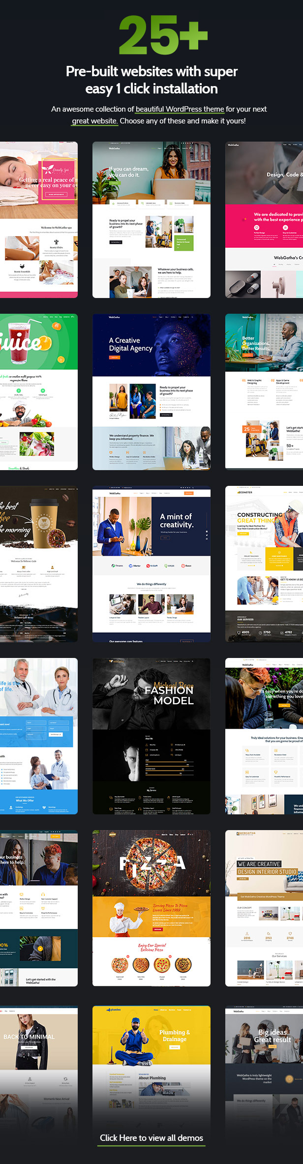 WebGatha - Multi-purpose WordPress Theme - 3