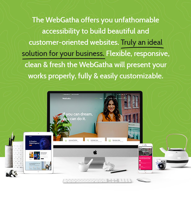 WebGatha - Multi-purpose WordPress Theme - 2